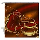 Latte Shower Curtains
