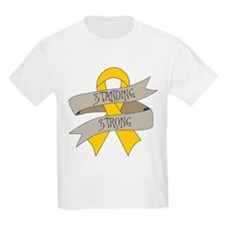 Childhood Cancer Standing Strong T-Shirt