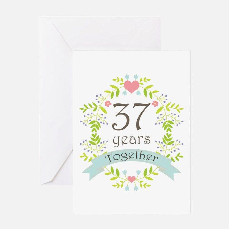 48th Wedding Anniversary Gift Ideas: 37Th Wedding Anniversary 37th Wedding Anniversary Greeting