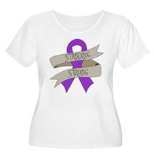 Chiari Malformation Standing Strong Plus Size T-Sh