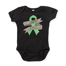 Celiac Disease Standing Strong Baby Bodysuit