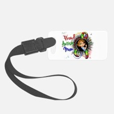 Autism Rosie Cartoon 1.2 Luggage Tag