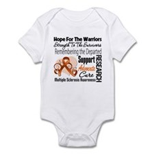 Tribute Hope Collage Multiple Sclerosis Body Suit