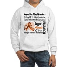 Tribute Hope Collage Multiple Sclerosis Hoodie