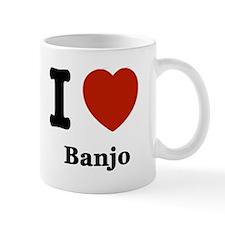 I love Banjo Mug