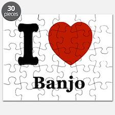 I love Banjo Puzzle