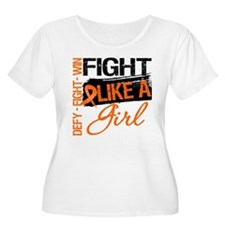 Multiple Sclerosis Fight Like a Girl Grunge Plus S