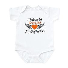 Multiple Sclerosis Awareness Wings Body Suit