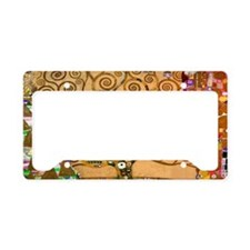Klimt Tree of Life License Plate Holder