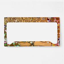 Klimt Tree of Life License Plate Holder
