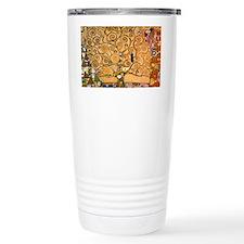 Klimt Tree of Life Travel Mug