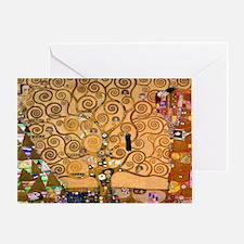 Klimt Tree of Life Greeting Card