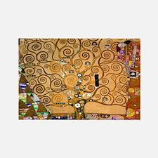 Klimt Tree of Life Rectangle Magnet