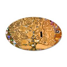 Klimt Tree of Life Wall Decal Sticker