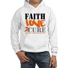Faith Love Cure MS Hoodie