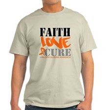 Faith Love Cure MS T-Shirt