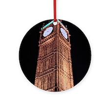 Big Ben  Round Ornament