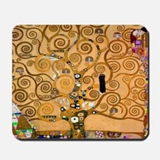 Klimt Tree of Life Mousepad
