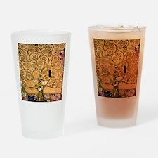 Klimt Tree of Life Drinking Glass