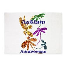 Autism Awareness 2015 5'x7'Area Rug