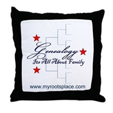 Genealogy Throw Pillow