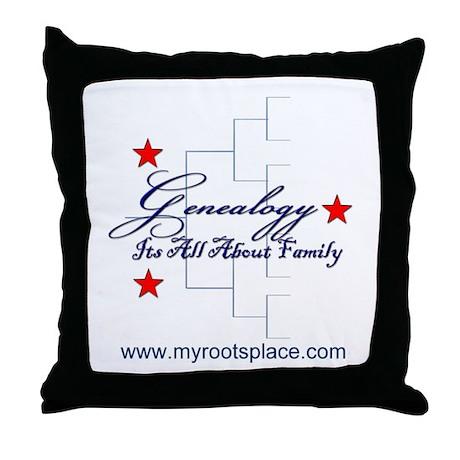 Genealogy Throw Pillow