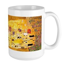 The Kiss by Klimt Mugs