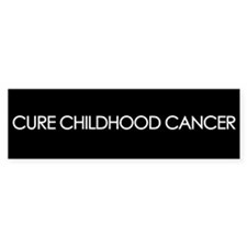 Cure Childhood Cancer Bumper Bumper Sticker