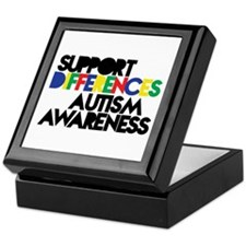 Support Differences - Autism Keepsake Box
