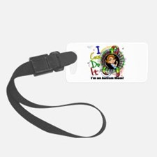 Autism Rosie Cartoon 3.2 Luggage Tag