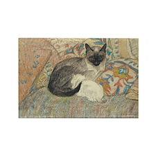 Steinlen Cat Rectangle Magnet