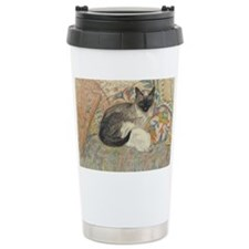 Steinlen Cat Travel Coffee Mug