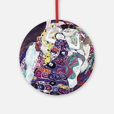 Klimt work Round Ornament