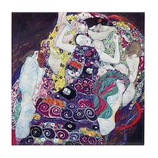 Klimt work Tile Coaster