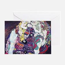 Klimt work Greeting Card