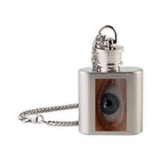 Eye Phone Case Flask Necklace