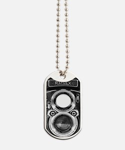 Vintage Camera Phone Case Dog Tags