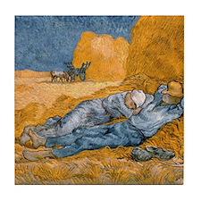 Van Gogh The Siesta Tile Coaster