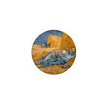 Van Gogh The Siesta Mini Button