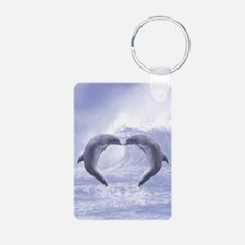 Dolphins Kisses Keychains