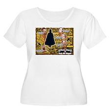 Jack the Ripper Victim Map Orange T-Shirt