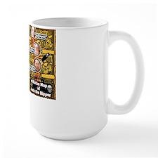 Jack the Ripper Victim Map Orange Mug