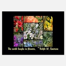 The Earth Laughs in Flowers Invitations