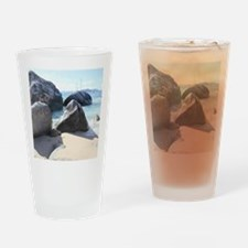 Blissful Beach Drinking Glass
