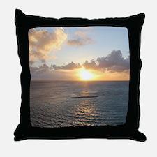 Aruba Sunset Throw Pillow
