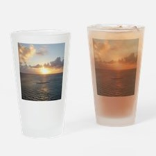 Aruba Sunset Drinking Glass