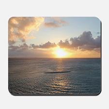 Aruba Sunset Mousepad