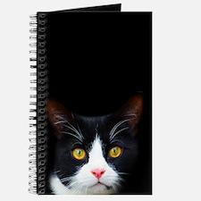 Bicolor Cat Face Journal