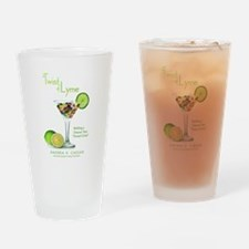 A Twist of Lyme Drinking Glass