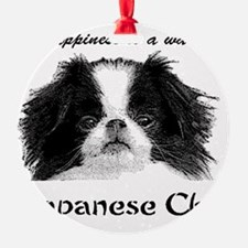 Warm Chin Ornament